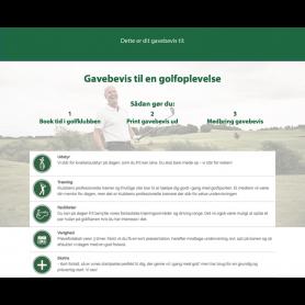 TEST Golf på Prøve - 3 måneder TEST